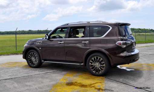2015 INFINITI QX80 Limited AWD 50
