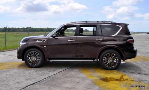 2015 INFINITI QX80 Limited AWD 51