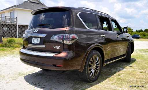 2015 INFINITI QX80 Limited AWD 6