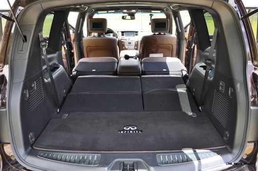 2015 INFINITI QX80 Limited AWD 64