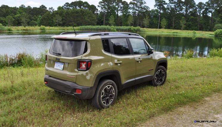 2015 Jeep RENEGADE Trailhawk Review 12
