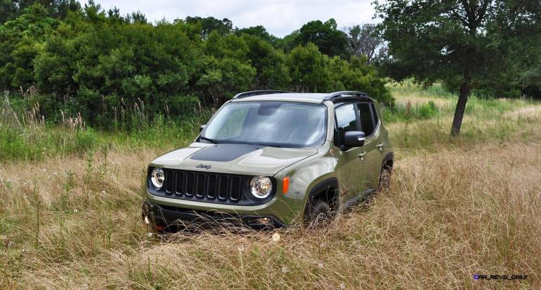 2015 Jeep RENEGADE Trailhawk Review 36