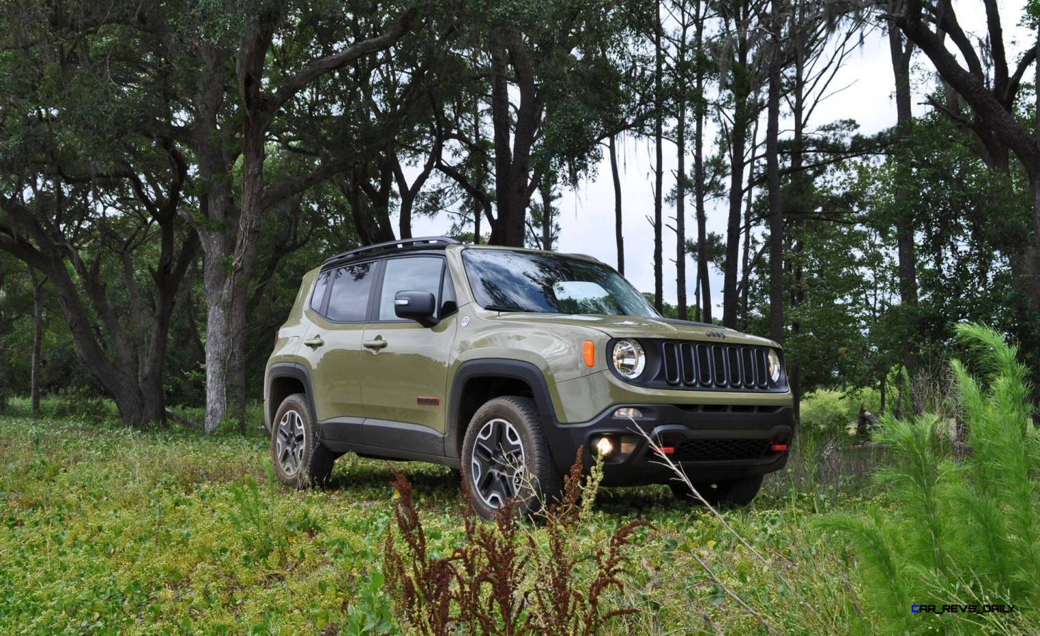 2015 Jeep RENEGADE Trailhawk Review 44