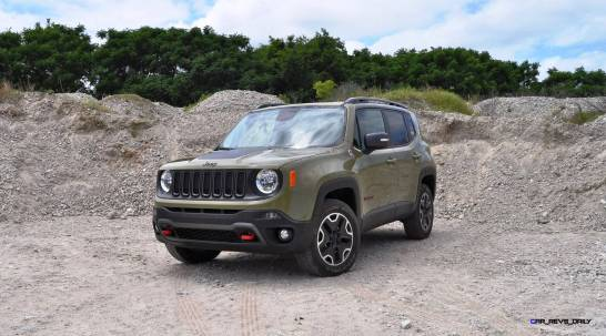 2015 Jeep RENEGADE Trailhawk Review 82