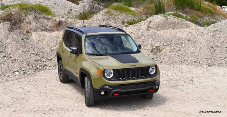 2015 Jeep RENEGADE Trailhawk Review 97