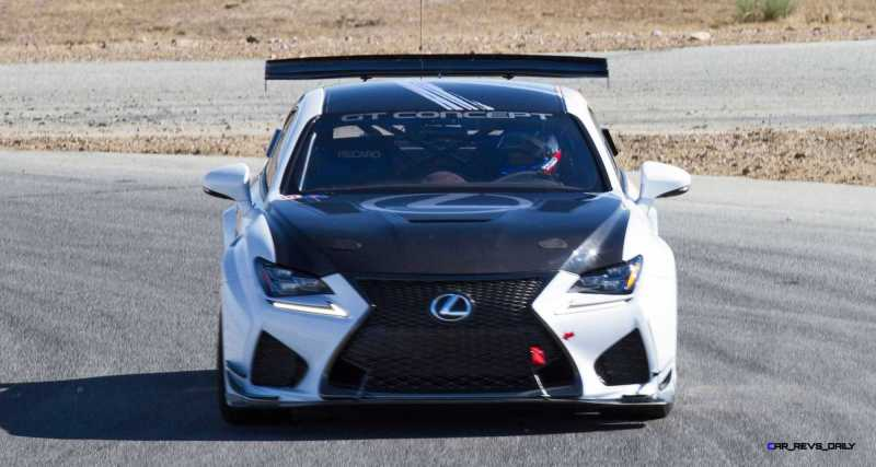 2015 Lexus RCF GT Concept Drops 900Lbs For Pikes Peak  12