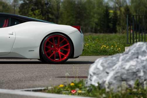 Ferrari 458 Italia - Vossen Forged Precision Series VPS-306 -_18525151618_o