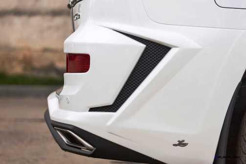 LARTE Design Lexus LX570 Alligator Bodykit White 15