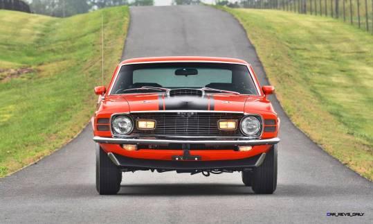 Mecum Harrisburg 2015 114_1970 Ford Mustang Mach 1 Fastback 10
