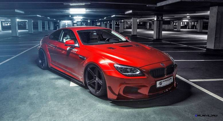 PRIOR-DESIGN PD6XX Widebody BMW 650i and M6 5