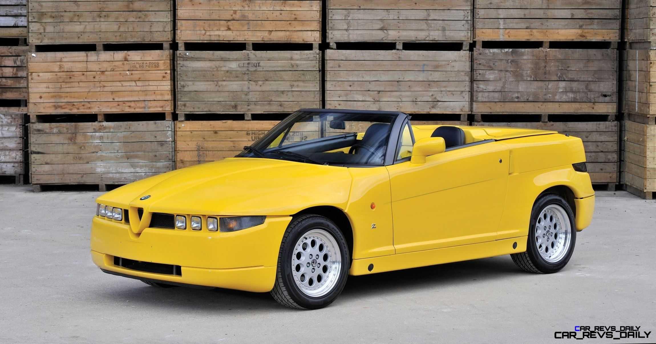 1993 Alfa Romeo RZ by Zagato 1