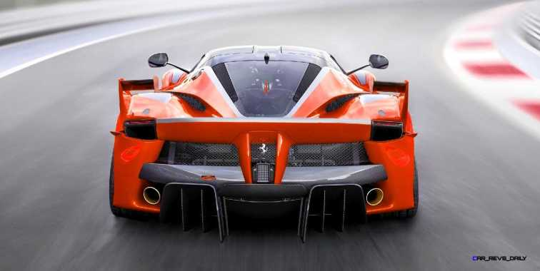2015 Ferrari FXX K - Rendered COLORS Visualizer 28