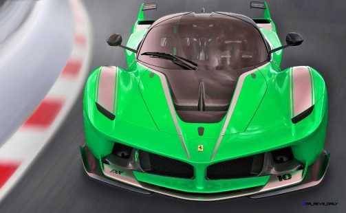 2015 Ferrari FXX K - Rendered COLORS Visualizer 3