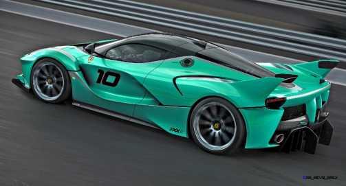 2015 Ferrari FXX K - Rendered COLORS Visualizer 48