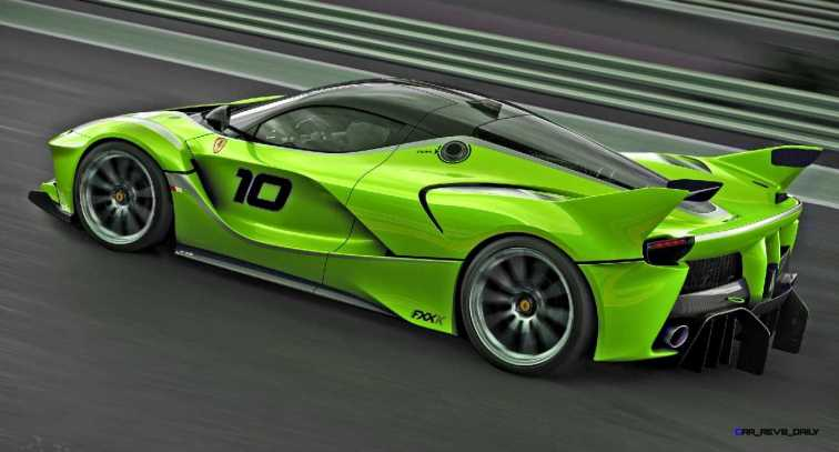 2015 Ferrari FXX K - Rendered COLORS Visualizer 53