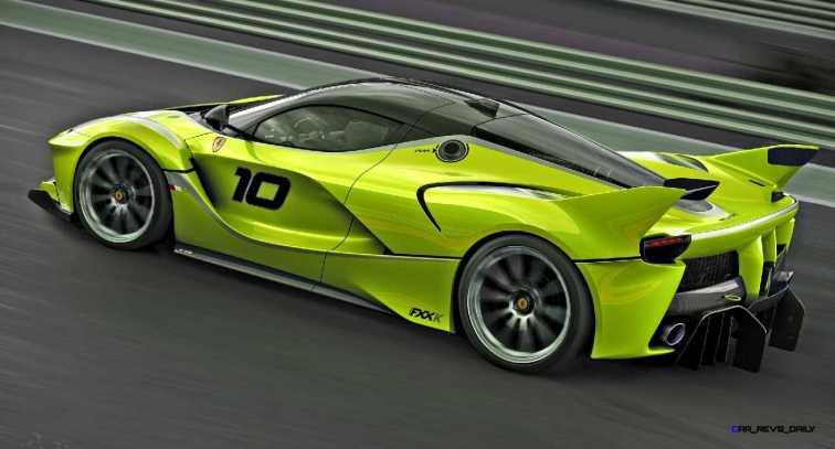 2015 Ferrari FXX K - Rendered COLORS Visualizer 54