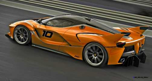 2015 Ferrari FXX K - Rendered COLORS Visualizer 56