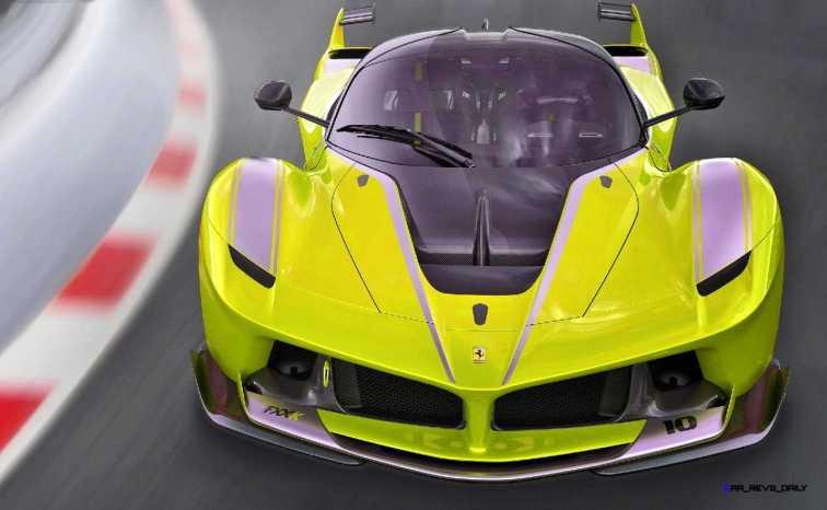 2015 Ferrari FXX K - Rendered COLORS Visualizer 6