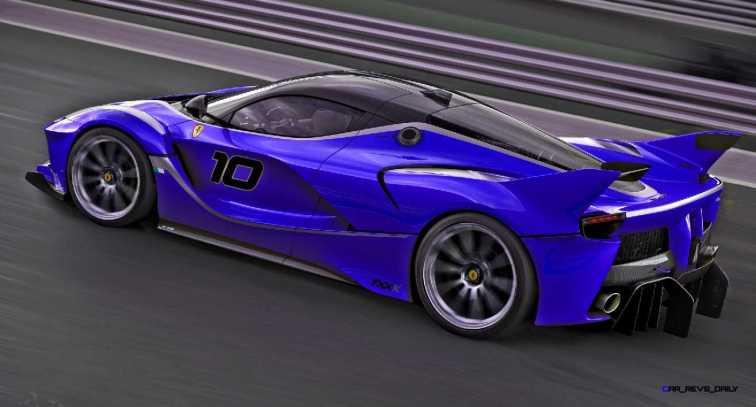 2015 Ferrari FXX K - Rendered COLORS Visualizer 63