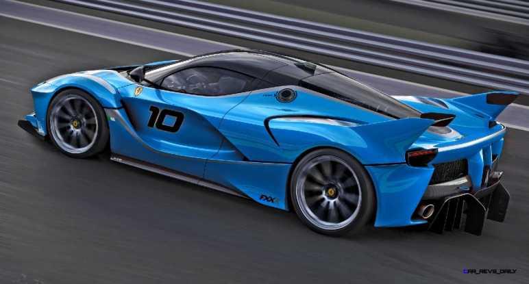 2015 Ferrari FXX K - Rendered COLORS Visualizer 67