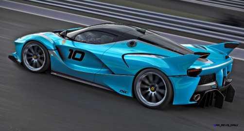 2015 Ferrari FXX K - Rendered COLORS Visualizer 68