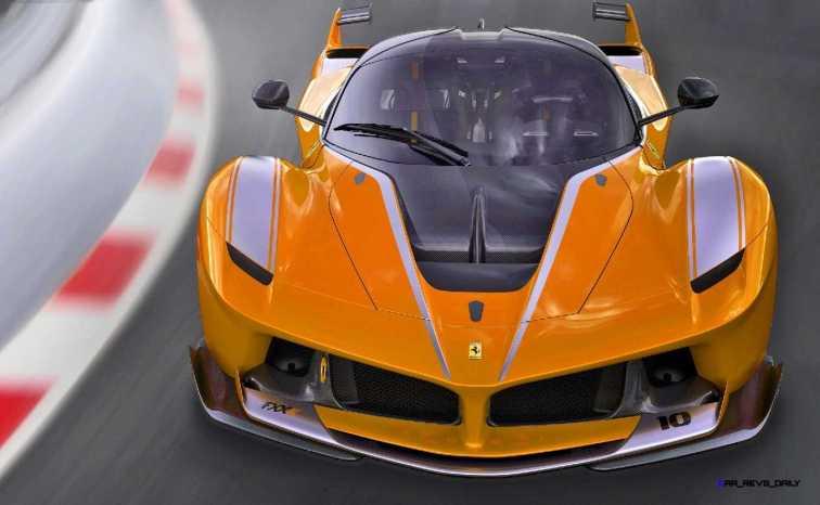 2015 Ferrari FXX K - Rendered COLORS Visualizer 7