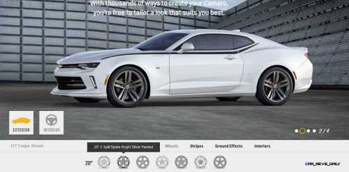 2016 Camaro SS Wheel Options 6