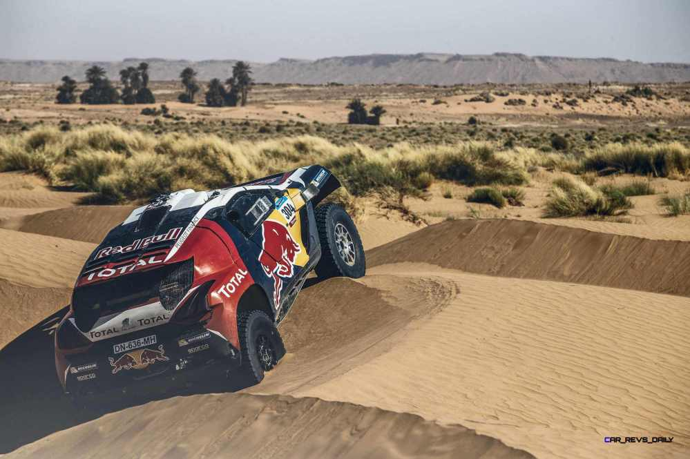 Stephane Peterhansel performs during the Peugeot test in Erfoud, Morocco, on June 17th, 2015 // Flavien Duhamel/Red Bull Content Pool // P-20150811-00109 // Usage for editorial use only // Please go to www.redbullcontentpool.com for further information. //