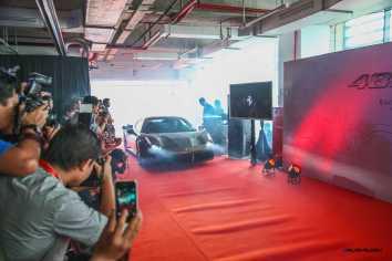 Ferrari Jakarta Showroom Inauguration and Ferrari 488 GTB Exclusive Preview at Graha MRA on July 31, 2015 in Jakarta, Indonesia