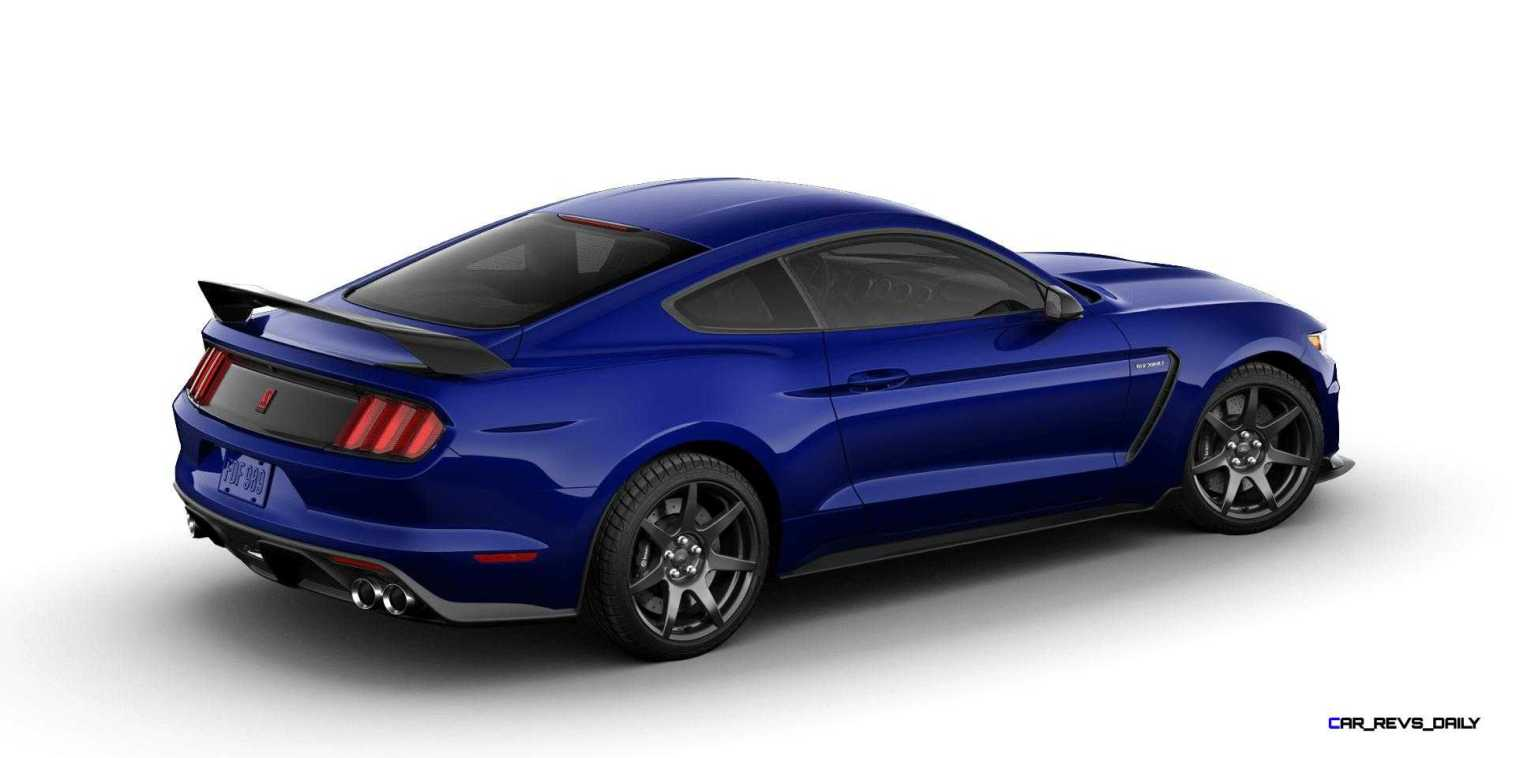 SHELBY GT350R Colors 11