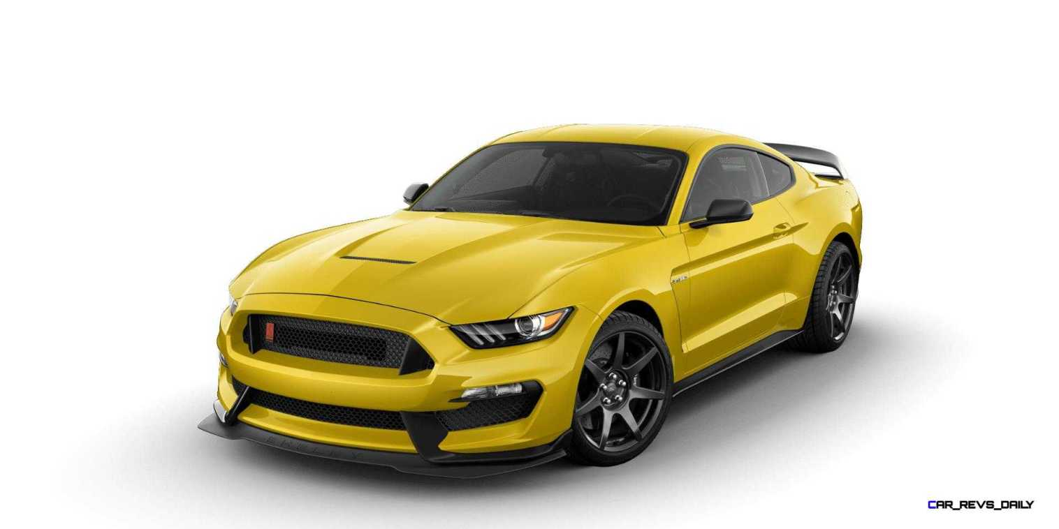 SHELBY GT350R Colors 21