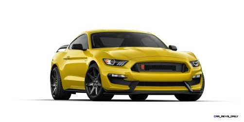 SHELBY GT350R Colors 24