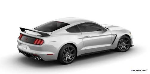 SHELBY GT350R Colors 35