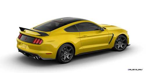 SHELBY GT350R Colors 45