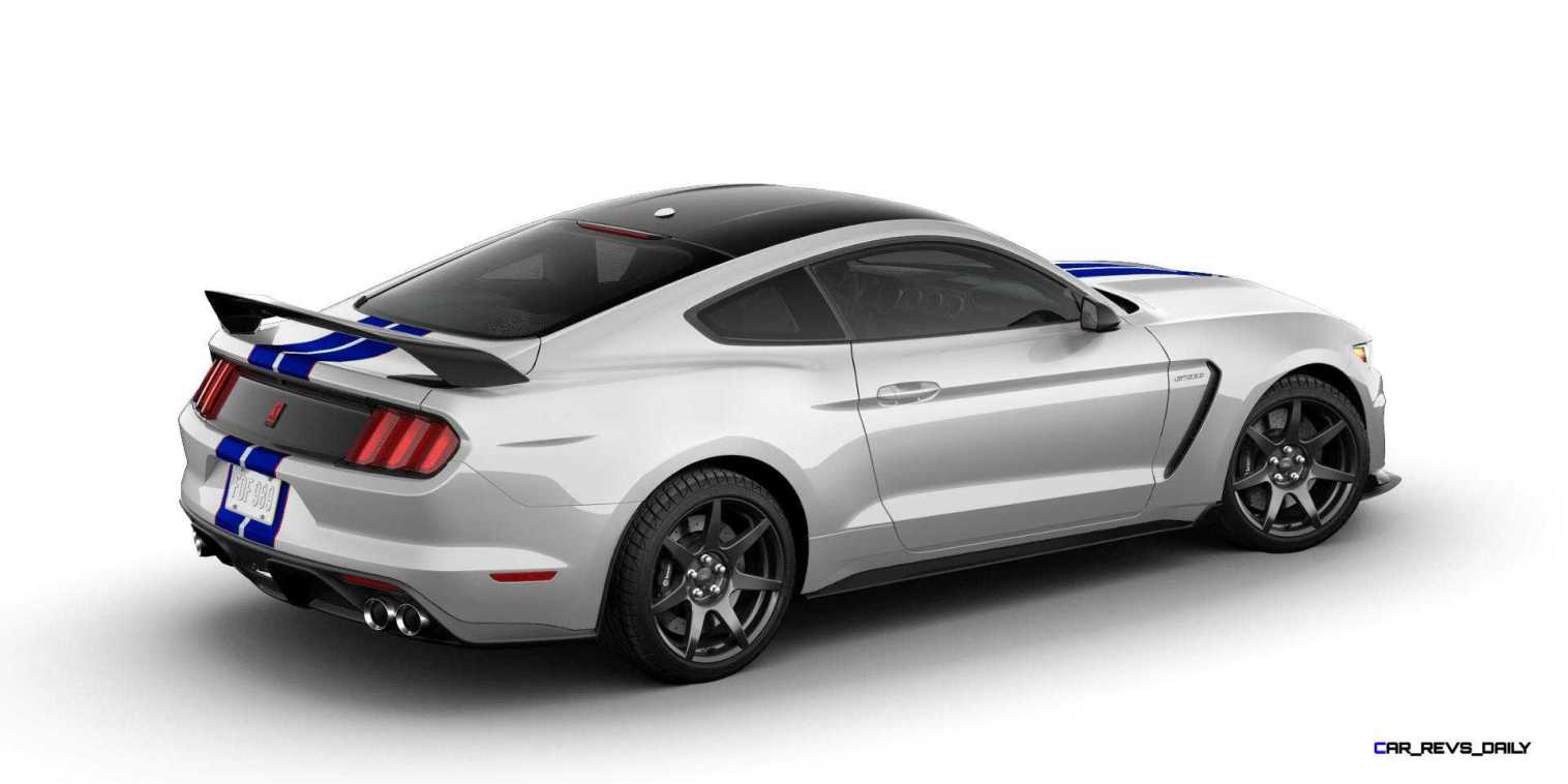 SHELBY GT350R Colors 48