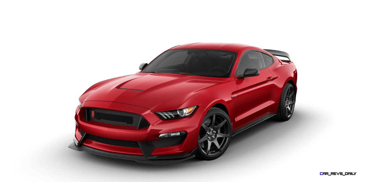 SHELBY GT350R Colors 5