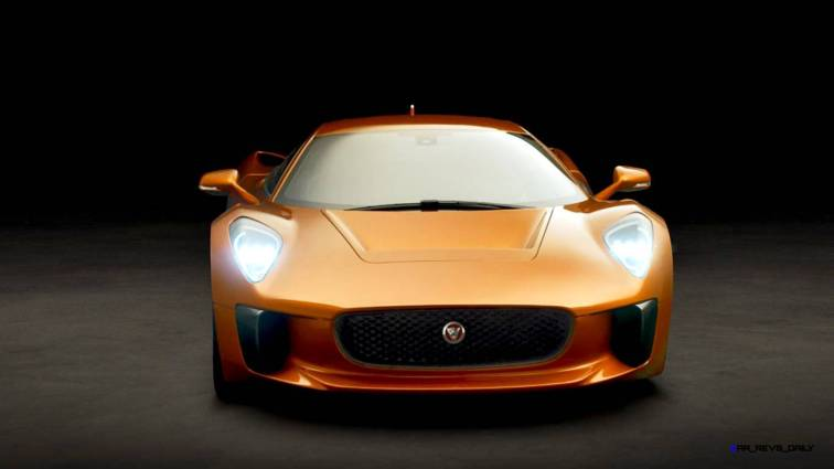 007 SPECTRE Bond Cars - JAGUAR CX-75 Orange 10
