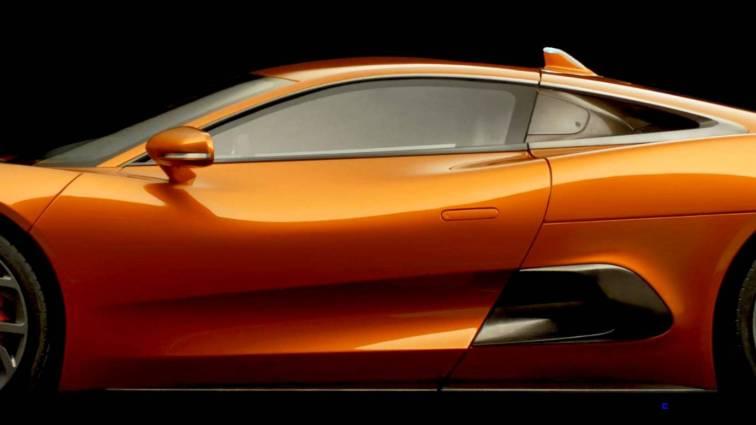 007 SPECTRE Bond Cars - JAGUAR CX-75 Orange 14