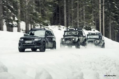 007 SPECTRE Bond Cars - Jaguar CX-75 Land Rover RRS SVR 5