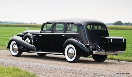 1937 Cadillac V16 Fleetwood Limousine 2