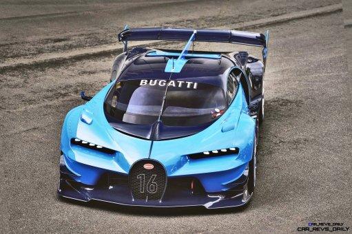 2015 Bugatti Vision Gran Turismo Frankfurt 9