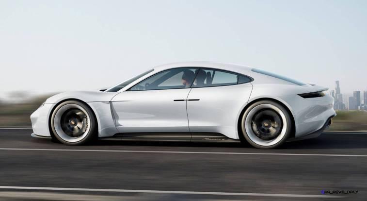 2015 Porsche Mission E 12
