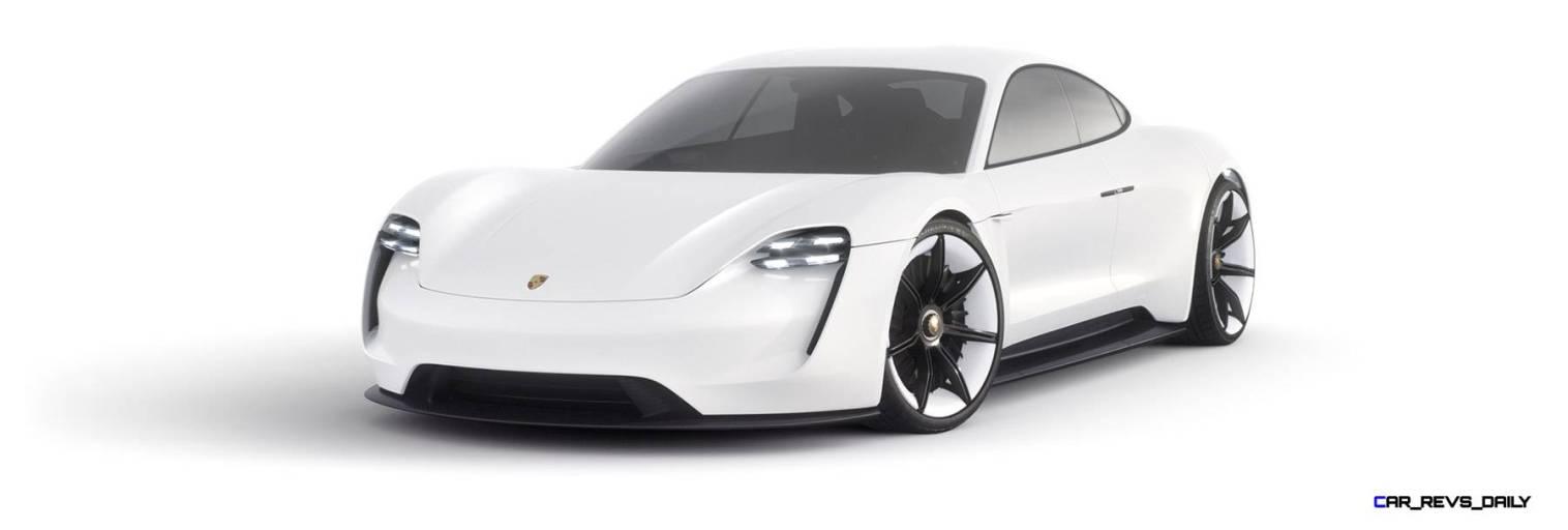 2015 Porsche Mission E Studio Stills 46