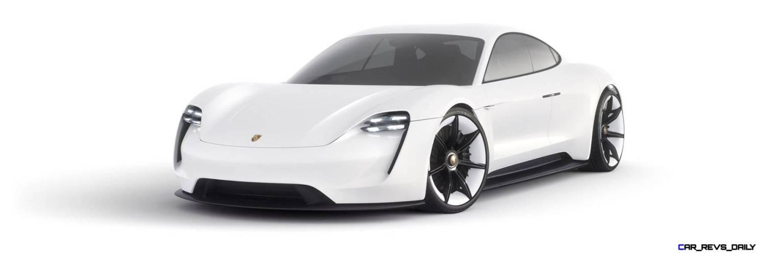 2015 Porsche Mission E Studio Stills 48