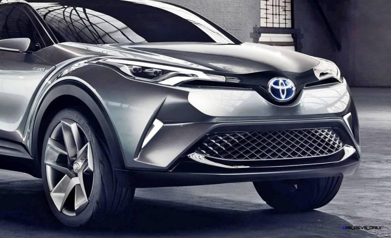 2015 Toyota C-HR Concept 4-Door 2
