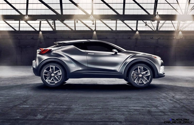 2015 Toyota C-HR Concept 4-Door 5