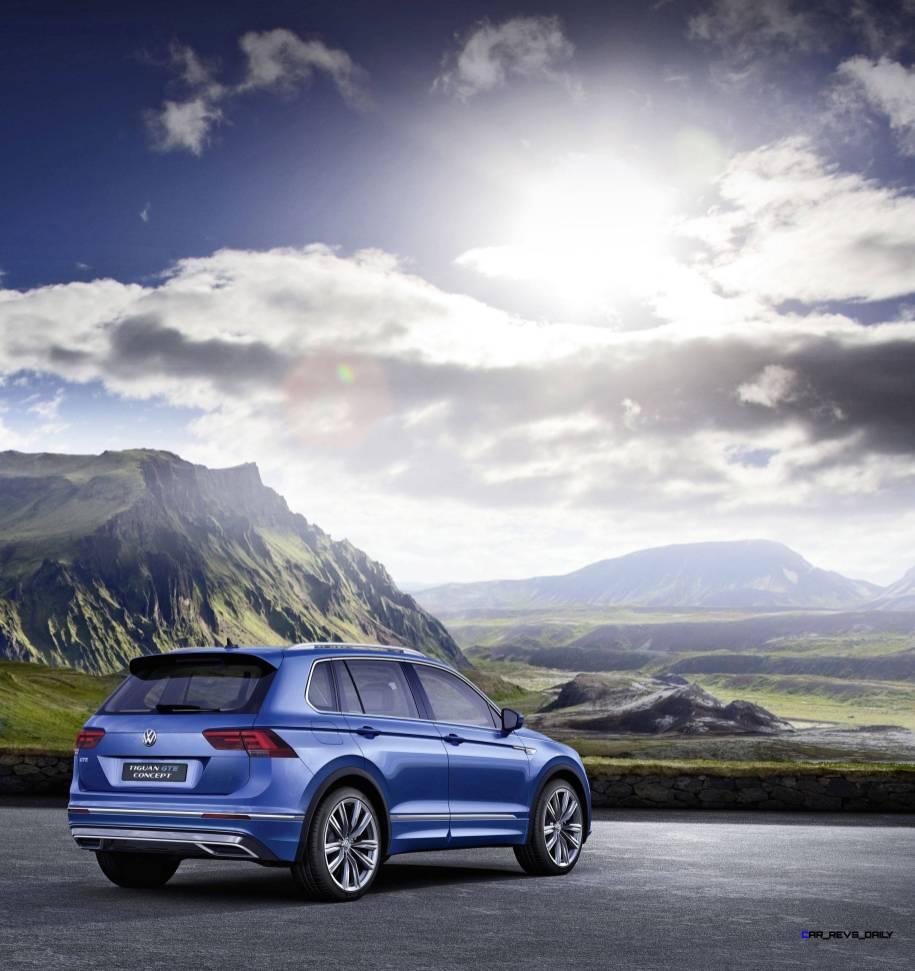2015 Volkswagen TIGUAN GTE Concept 9