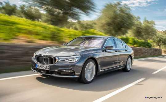 2016 BMW 750Li Exterior Photos 11