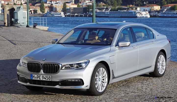 2016 BMW 750Li Exterior Photos 2