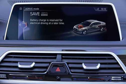 2016 BMW 750Li Interior 10